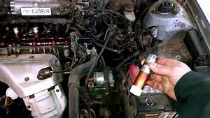 Oil In Spark Plug Tubes Holes Issue Toyota Camry 2 2l How