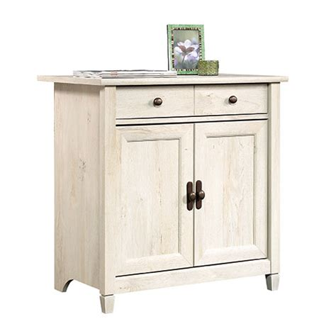 sauder edge water executive desk chalked chestnut compare miscellaneous sauder edge water file cabinet in