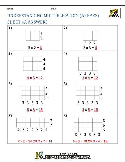 beginning multiplication worksheets