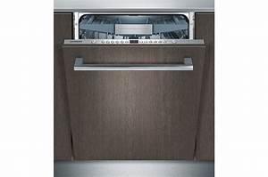 Lave Vaisselle Encastrable 9 Couverts : lave vaisselle encastrable siemens sn66p093eu full 4205359 darty ~ Melissatoandfro.com Idées de Décoration