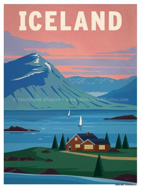 ideastorm studio store iceland poster