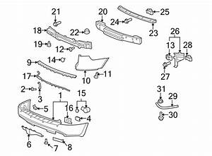 Buick Enclave Parking Aid System Wiring Harness  2008