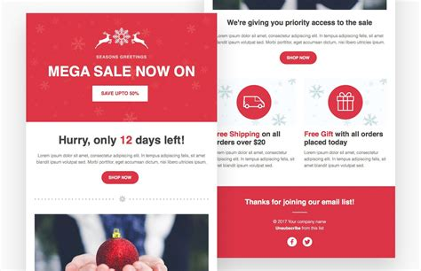 Html Email Templates Sale Responsive Html Email Template Medialoot