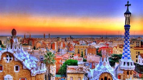 Barcelona Spain One Of The Most Visited Places In The ...