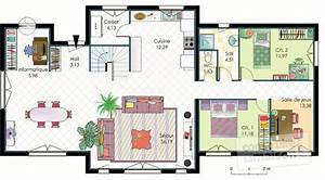 maison en bois detail du plan de maison en bois faire With faire un plan de maison 2 une maison en ossature bois detail du plan de une maison