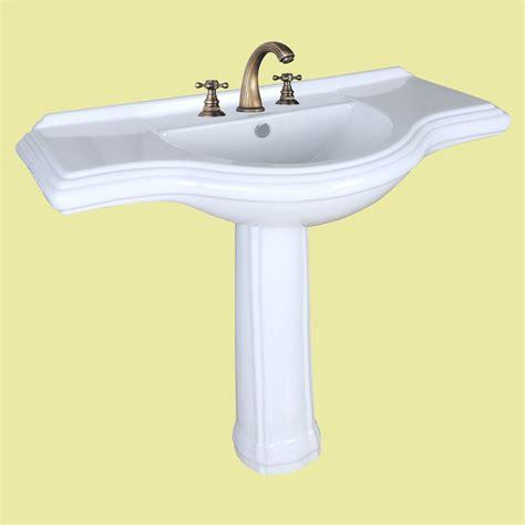 bathroom sink consoles vintage vintage pedestal sink x large bathroom console 8