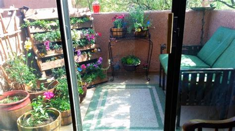 condo patio garden ideas photograph garden patio small co