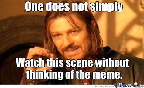 One Does Not Simply Meme Picture - one does not simply by zarocious meme center