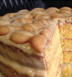 ideas  banana pudding cake  pinterest