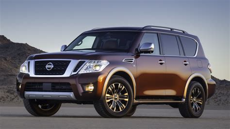 Nissan Big the 2017 nissan armada shows the big suv is back