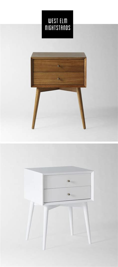 Nightstand West Elm by Nightstand Before And After Visualheart Creative Studio