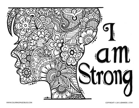 Anti Stress Adult Coloring Pages