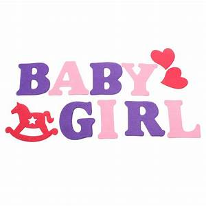 baby shower girl boy letters birthday party banner bunting With baby hanging letters