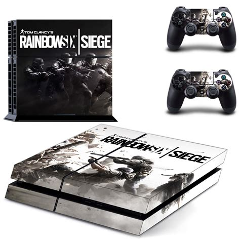 siege playstation fashion rainbow six siege cover skin sticker for ps4