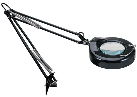 Magnifying Glass Desk Lamp Daylight Bulb Table Clamp