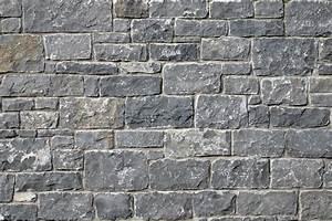 Mur En Moellon : parement pierre calcaire construction maison b ton arm ~ Dallasstarsshop.com Idées de Décoration