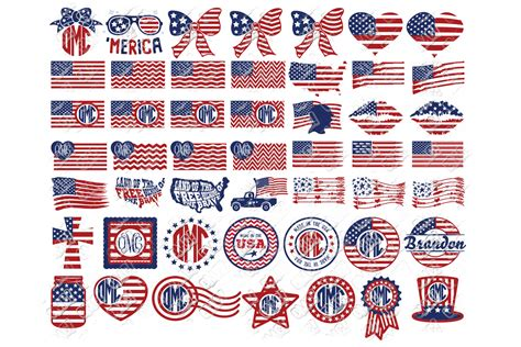 Find & download free graphic resources for american flag. American Flag SVG Bundle