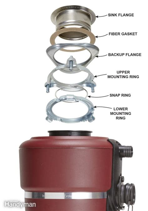 replacing a garbage disposal in a double sink how to replace a garbage disposal the family handyman
