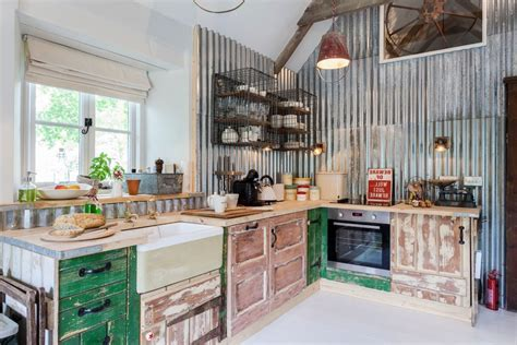 Wonderful Metal Kitchen Cabinets Contemporary with Wood