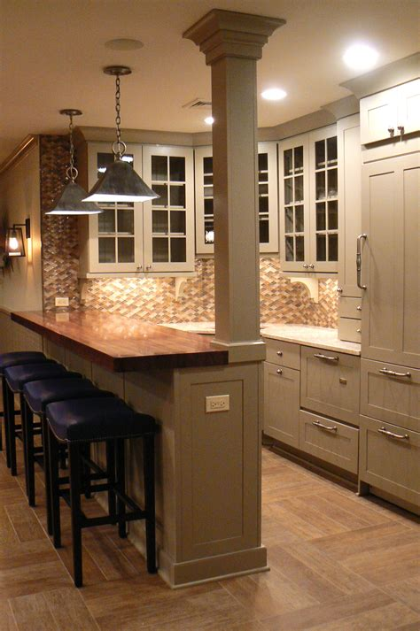 kitchen island ideas with bar 10 the best images about design galley kitchen ideas