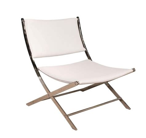 rodeo leather sling back chair white products ideas