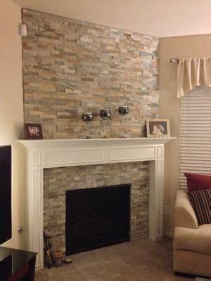 stone backsplash fireplaces  natural stones  pinterest