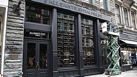 video allsaints store broadway  york news drapers