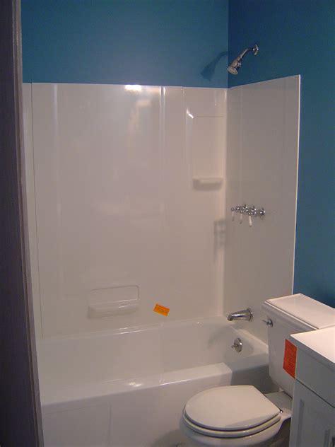 updating  showertub walls