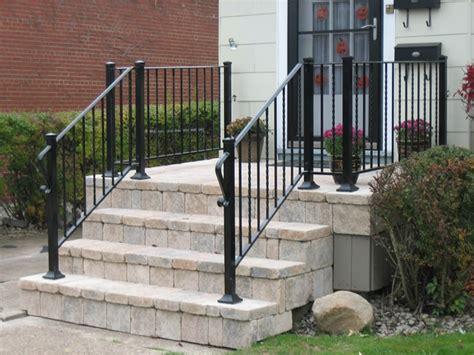 black porch railing aluminum porch railings ideas bistrodre porch and