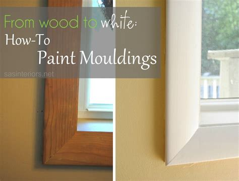 wood  white   paint mouldings  sasinteriors