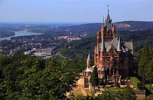 The Historic Schloss Drachenburg Castle in Germany