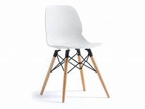 Chaise Cuisine Conforama : chaise oslo coloris blanc vente de chaise conforama ~ Teatrodelosmanantiales.com Idées de Décoration