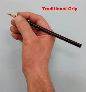 5 Grips for Holding a Pencil for Drawing - My Favorite ...