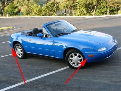 90-97 Mazda Miata Mx5 Mx-5 Eunos Roadster Rear Clear