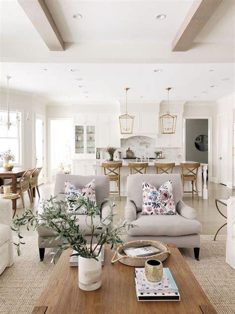 open layout living room  kitchen benjamin moore