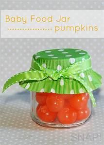 Baby Food Jar Pumpkins   Frascos, Calabazas y Obsequios de ...
