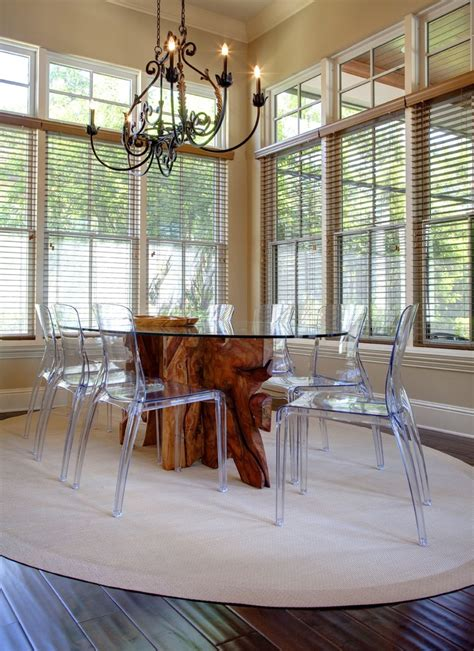 ghost chairs with wood table the louis ghost chair a modern balance of design