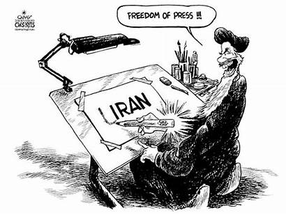 Freedom Press Iran Cartoons Cartoon Mullahs Nukes