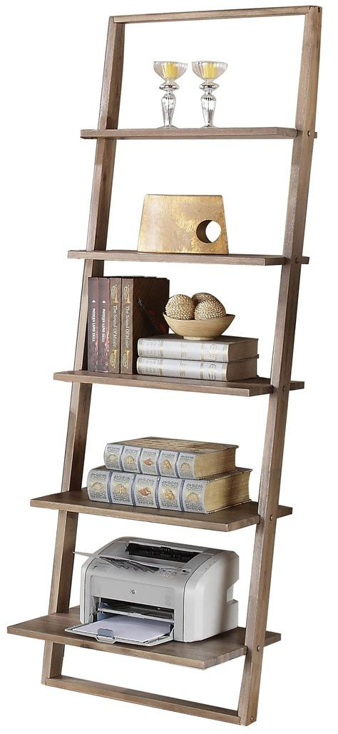 Leaning Bookcase by Leaning Bookcase With 5 Shelves By Riverside Furniture