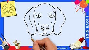 Hoe teken je een hond MAKKELIJK stap voor stap voor ...