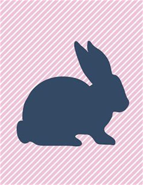 easter templates images  pinterest bunnies