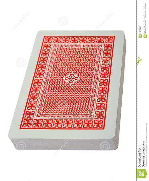 Deck Of Playing Cards Stock Image  Image 2372891