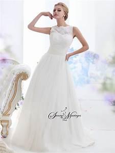 Robe Mariage Dentelle : robe de mari e dentelle sunny mariage ~ Mglfilm.com Idées de Décoration