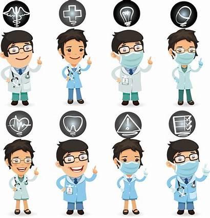 Nurse Cartoon Care Clipart Health Healthcare Nurses