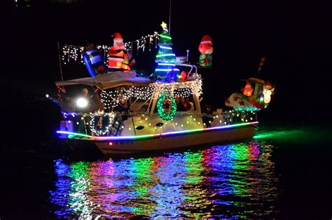 Boat Lights In Kemah by Parade Of Lights Shines On San Diego Bay