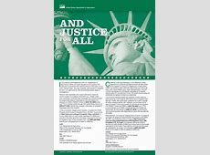 Justice For All Poster Download