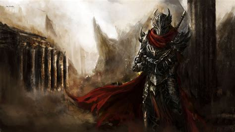 fantasy art knights guild wars guild wars  wallpapers