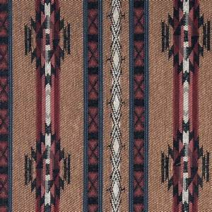 Striped Southwest, Navajo, Style Upholstery Fabric By The ...