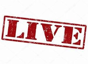 Live stamp — Stock Vector © roxanabalint #37212631