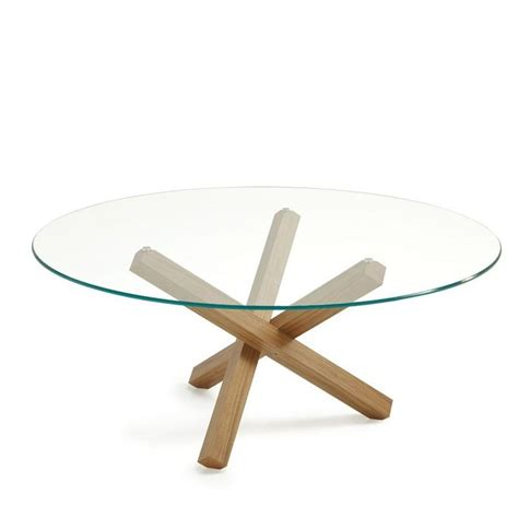 25 best ideas about table ronde en verre on table ronde en bois table bois et fer